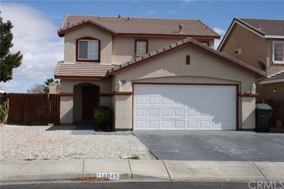 14845 Carter Road, Victorville, CA 92394 - #: 300616216