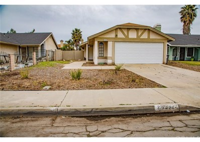 24204 Sun Valley Road, Moreno Valley, CA 92553 - #: 300955576
