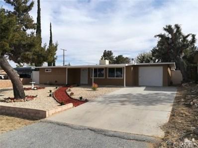 61513 Sunburst Drive, Joshua Tree, CA 92252 - #: 301111401