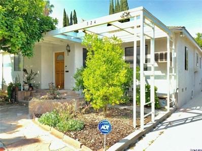 324 N Beachwood Drive, Burbank, CA 91506 - #: 301132642