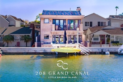 208 Grand Canal, Newport Beach, CA 92662 - #: 301185096