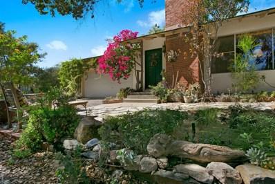 2523 San Vicente Road, Ramona, CA 92065 - #: 170043740
