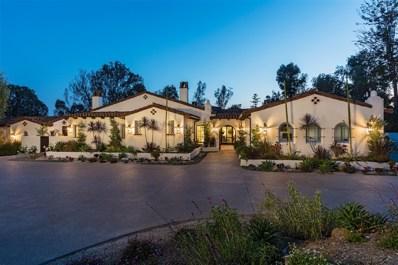 16924 Avenida Luis, Rancho Santa Fe, CA 92067 - #: 180031648