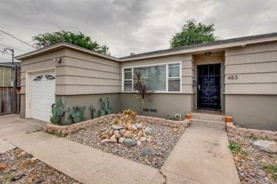 483 Gardner St, El Cajon, CA 92020 - #: 180042611