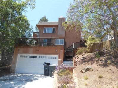 1618 San Miguel, Spring Valley, CA 91977 - #: 180043854
