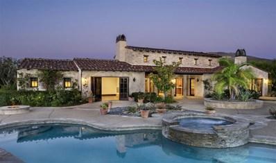 4277 Via Ravello, Rancho Santa Fe, CA 92091 - #: 180052237