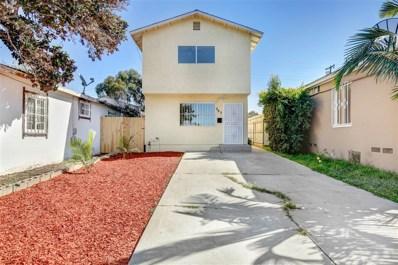 727 Toyne St, San Diego, CA 92102 - #: 180058827