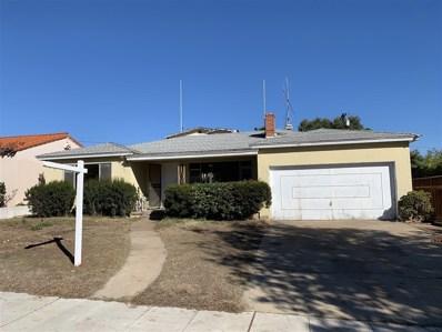 1035 Santa Barbara St, San Diego, CA 92107 - #: 180066327