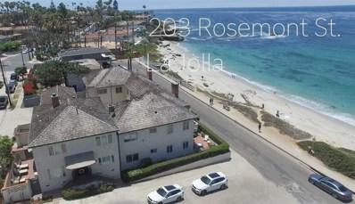 203 Rosemont, La Jolla, CA 92037 - #: 180066586