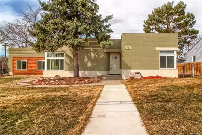 2095 Iris Street, Lakewood, CO 80215 - #: 3490572