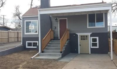 243 S Eliot Street, Denver, CO 80219 - #: 8526339