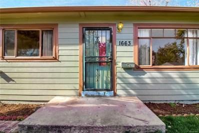 1663 S Knox Court, Denver, CO 80219 - #: 8628112