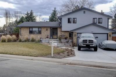 801 S Dudley Street, Lakewood, CO 80226 - #: 9831476
