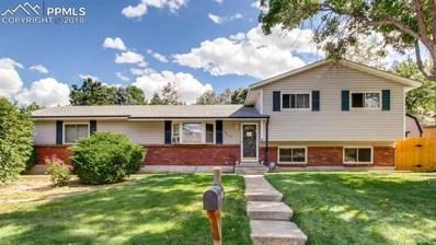 5635 Del Rey Drive, Colorado Springs, CO 80918 - #: 1386680