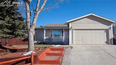 6345 Montarbor Drive, Colorado Springs, CO 80918 - #: 3934508
