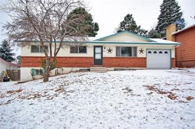 3475 W Montebello Drive, Colorado Springs, CO 80918 - #: 4827626