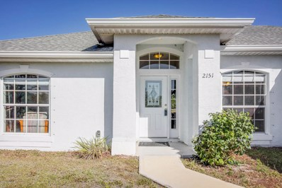 2151 SE Cogan Drive, Palm Bay, FL 32909 - #: 809111