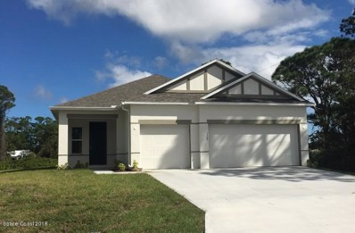 1587 MacKay Avenue, Palm Bay, FL 32909 - #: 821221