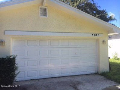 1616 Baker Street, Palm Bay, FL 32907 - #: 824431