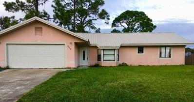 957 Banks Street, Palm Bay, FL 32907 - #: 828157
