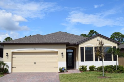4146 Catgrass Lane, West Melbourne, FL 32904 - #: 828839