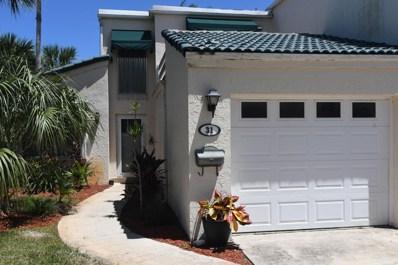 31 Emerald Court, Satellite Beach, FL 32937 - #: 854065