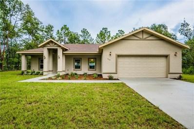 9249 N Saponaria Drive, Citrus Springs, FL 34433 - #: 771469