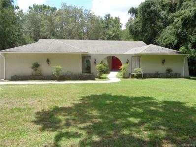 2886 W Antioch Lane, Lecanto, FL 34461 - #: 774655