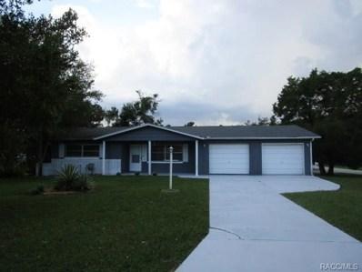 38 Regina Boulevard, Beverly Hills, FL 34465 - #: 776203