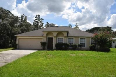 3136 W Camilo Drive, Citrus Springs, FL 34433 - #: 776982