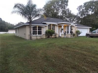 7770 W Autumn Street, Homosassa, FL 34446 - #: 777094