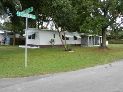 4383 E Louisiana Lane, Hernando, FL 34442 - #: 778225