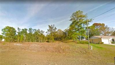 2211 S Rock Crusher Road, Homosassa, FL 34448 - #: 803267