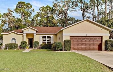 3 Raintree Place, Palm Coast, FL 32164 - #: 1050306