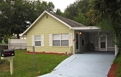 637 Ruth Street, Port Orange, FL 32129 - #: 1062162