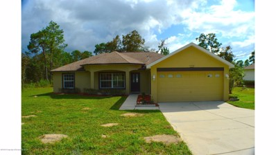 15246 Scaup Duck Avenue, Weeki Wachee, FL 34614 - #: 2194904
