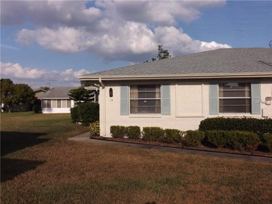 1903 Canterbury Lane UNIT B19, Sun City Center, FL 33573 - #: T2919648