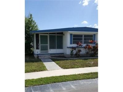 6100 62ND Avenue N UNIT 59, Pinellas Park, FL 33781 - #: U7818406