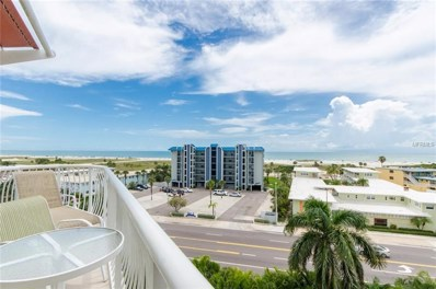 11605 Gulf Boulevard UNIT 603, Treasure Island, FL 33706 - #: U8020745