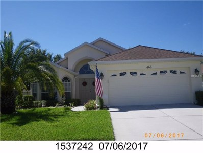 466 Greenwich Circle, Spring Hill, FL 34609 - #: W7803000