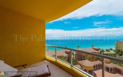 2110 N Ocean Bl UNIT 10D, Fort Lauderdale, FL 33305 - #: F10081027