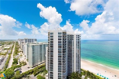 3200 N Ocean Blvd UNIT 2909, Fort Lauderdale, FL 33308 - #: F10092016