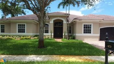 4075 SW 140th Ave, Davie, FL 33330 - #: F10132027