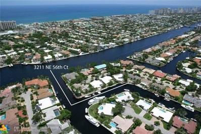3211 NE 56th Ct, Fort Lauderdale, FL 33308 - #: F10132403