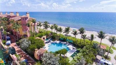 2110 N Ocean Blvd UNIT 18E, Fort Lauderdale, FL 33305 - #: F10136638