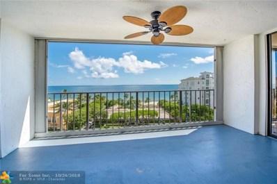 1905 N Ocean Blvd UNIT E7E, Fort Lauderdale, FL 33305 - #: F10143241
