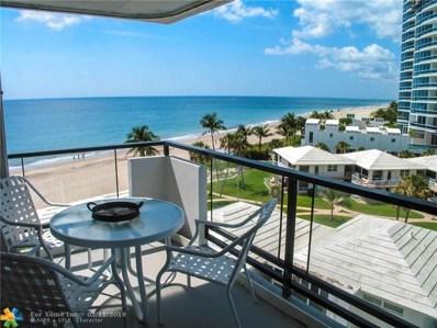 1500 S Ocean Blvd UNIT 606, Lauderdale By The Sea, FL 33062 - #: F10146573