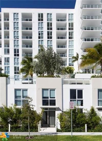 401 N Birch Rd UNIT TH6, Fort Lauderdale, FL 33304 - #: F10146682