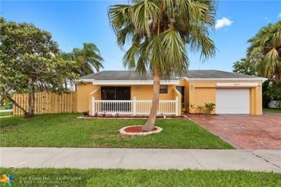 541 SW 168th Ave, Weston, FL 33326 - #: F10147249