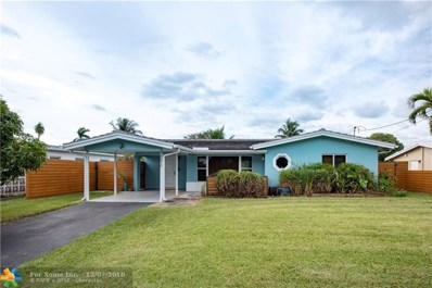 3371 NW 18th Ave, Oakland Park, FL 33309 - #: F10152634
